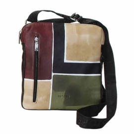BUSINESS CAMOUFLAGE TRIANGOLO ACROSS BODY BAG