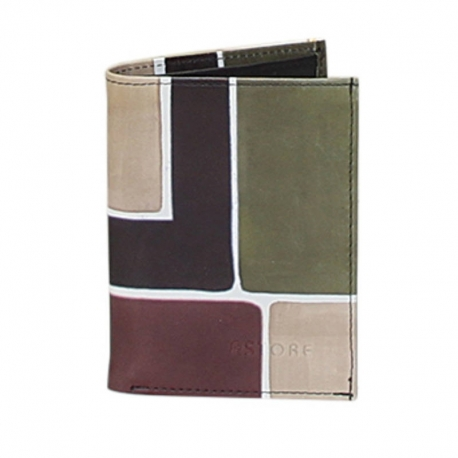 MAN WALLET CAMOUFLAGE SQUARE