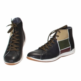 MAN SNEAKERS ACQUERELLO CAMOUFLAGE TRIS