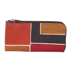 BROWN SQUARE WALLET