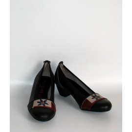 CLASSIC HEELS WITH NERO FIORE BAND