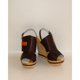 ACCADEMIA COFFEE SANDALS