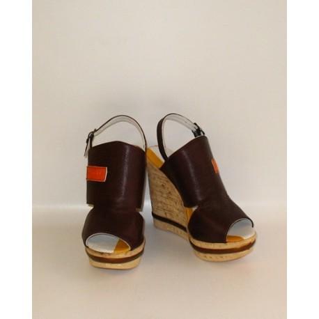 SHOES ACCADEMIA COFFEE