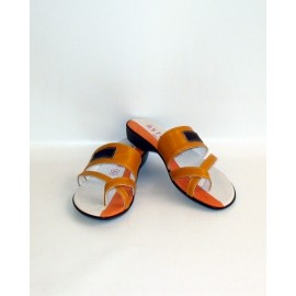 SHOES ACCADEMIA OCHRE