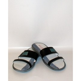 MAN SLIPPERS ACCADEMIA BLACK