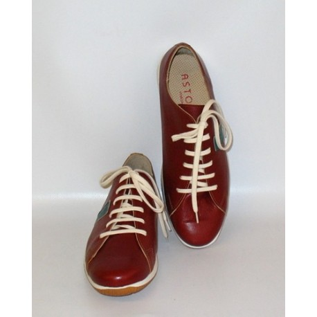 MAN SNEAKERS ACCADEMIA TOBACCO