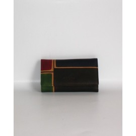 MARRONE QUADRI WALLET