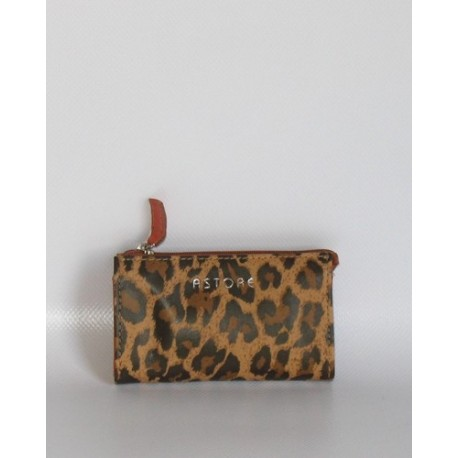 SACHET KEY HOLDER LEOPARDO ARANCIO