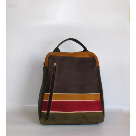 BUSINESS BROWN ALBA BACKPACK