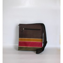 BORSA TRACOLLA BUSINESS BROWN ALBA