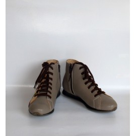 SNEAKERS TAUPE RETE