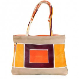 HANDBAG ACQUERELLO DUNE ART