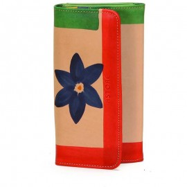 WALLET ACQUERELLO NATURALE FIORE