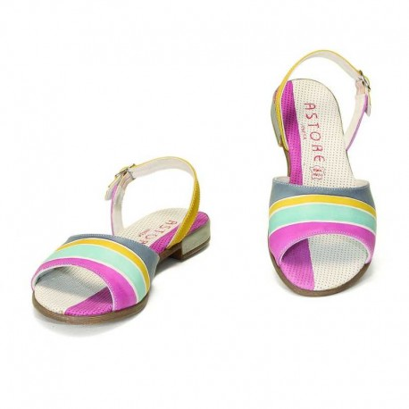 SANDALS ACQUERELLO ICE ALBA