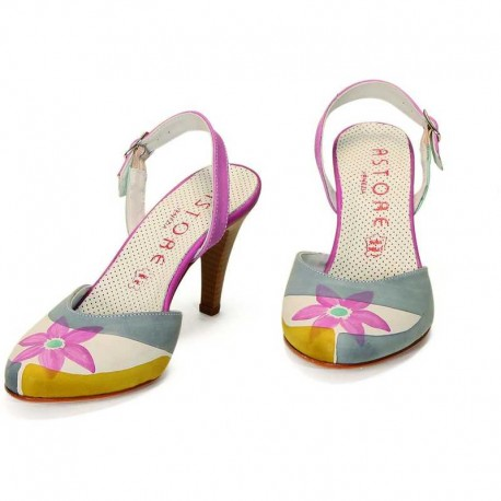 SANDALS ACQUERELLO ICE FIORE