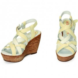 WEDGE SANDALS BURRO