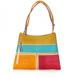 HANDBAG ACQUERELLO CREMA BETA
