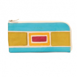 WALLET ACQUERELLO CREMA ART