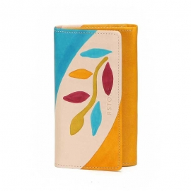 WALLET ACQUERELLO CREMA RAMO