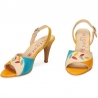 SANDALS ACQUERELLO CREMA RAMO