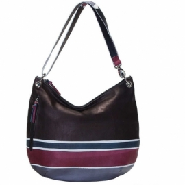 HANDBAG ACQUERELLO WINE ALBA