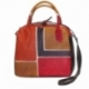 HANDBAG GRATA ACQUERELLO BROWN SQUARE