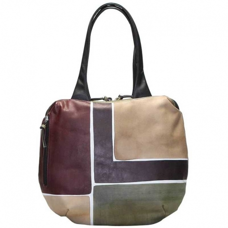 HANDBAG ACQUERELLO CAMOUFLAGE SQUARE