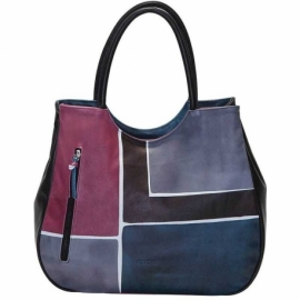 HANDBAG ACQUERELLO WINE SQUARE