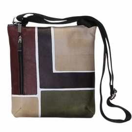 BORSA TRACOLLA BUSINESS CAMOUFLAGE SQUARE PICCOLA