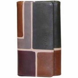WALLET TAUPE SQUARE
