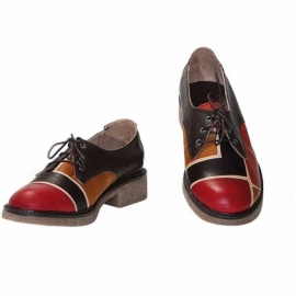 SCARPE ACQUERELLO BROWN SQUARE