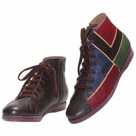 SNEAKERS ACQUERELLO MARRONE SQUARE