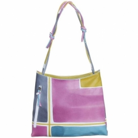 ACQUERELLO ICE GEOMETRICO HANDBAG