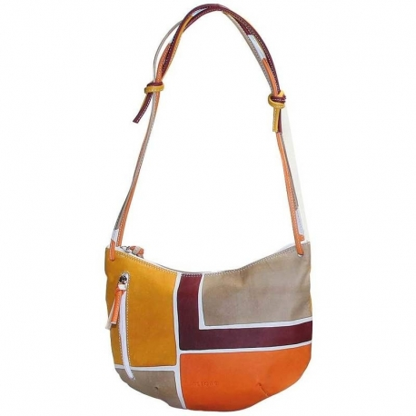 ACQUERELLO DUNE SQUARE HANDBAG SMALL