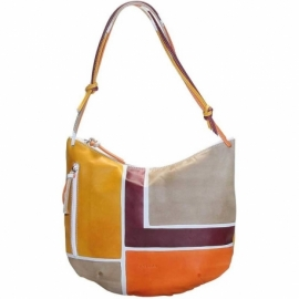 ACQUERELLO DUNE SQUARE HANDBAG BIG