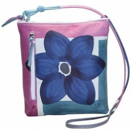 ACQUERELLO CRISTALLO FIORE ACROSS BODY BAG