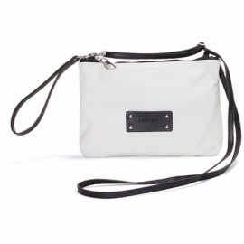 CITY GHIACCIO AND NERO SMALL HANDBAG