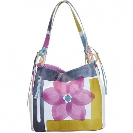 ACQUERELLO ICE FIORE HANDBAG