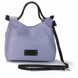 CITY VITELLO GLICINE AND NERO HANDBAG