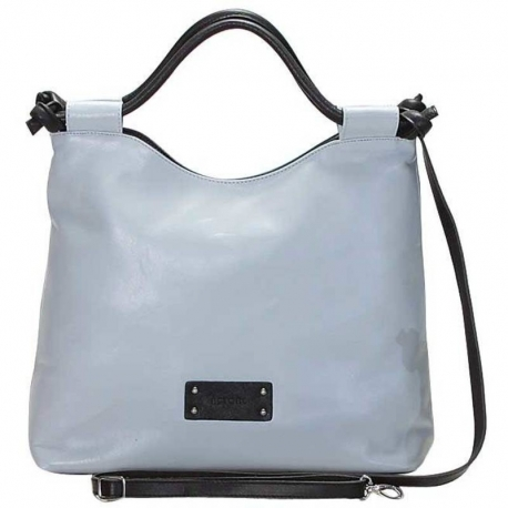 CITY VITELLO NILE AND NERO HANDBAG