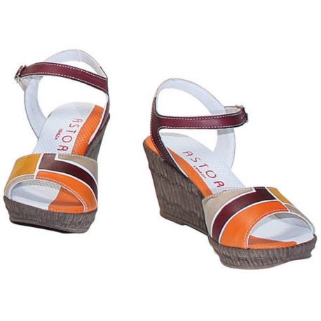 ACQUERELLO DUNE SQUARE SANDALS