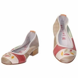 ACQUERELLO OASI RAMO BALLERINA PUMPS