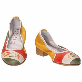 ACQUERELLO STEPPA RAMO BALLERINA PUMPS