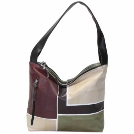 ACQUERELLO CAMOUFLAGE SQUARE HANDBAG