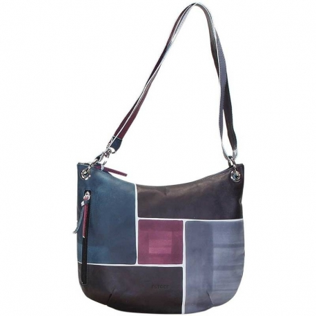 HANDBAG ACQUERELLO WINE SPIRE