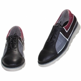 SNEAKERS ACQUERELLO WINE SQUARE