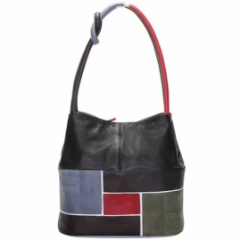 ACQUERELLO BLACK SPIRE HANDBAG