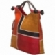ACQUERELLO BROWN SQUARE HANDBAG