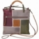 ACQUERELLO TAUPE SPIRE ACROSS BODY BAG