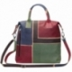 ACQUERELLO MARRONE SQUARE HANDBAG